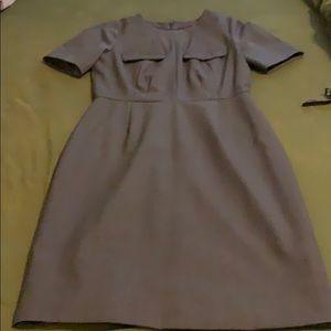 J crew gray sheath dress 4